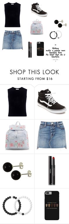 """#121"" by mrshemmings-di ❤ liked on Polyvore featuring A.L.C., Vans, New Look, Frame, Chanel and Lokai"