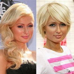 Paris Hilton -  just the short hair