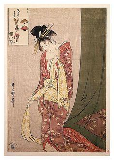 012-Ôgiya Hanaôgi 1795-Kitagawa Utamaro-NYPL