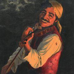 Smiling Gypsy Painting (by Fritz Muller). Gypsy Men, Gypsy Girls, Bohemian Girls, Gypsy Life, Hippie Gypsy, Gypsy Soul, Gypsy Caravan, Gypsy Wagon, Badass Halloween Costumes