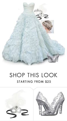 """""""Cindy Masquerade Ball"""" by loubear223 ❤ liked on Polyvore featuring Pier 1 Imports, Oscar de la Renta and Dolce&Gabbana"""