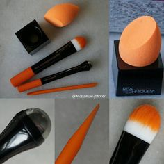 Maybe if I liked the real techniques blender better I would consider this more. Repost from @angelamarytanner @TopRankRepost #TopRankRepost REAL TECHNIQUES PREP AND PRIME SET ($20) 'This limited edition prep & prime set has every tool you need to prep prime and apply foundation'  It comes with 5 products: beauty spatula under eye reviver prep brush miracle complexion sponge sponge stand  Most of these products are things that you wouldn't think that you need (with the exception of the…