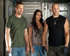Paul Walker, Jordana Brewster, Vin Diesel in Fast Five