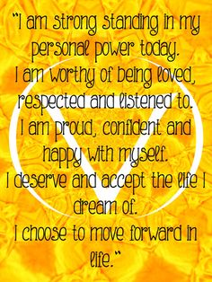 ∆ Solar Plexis Chakra...Manipura Chakra ~ The abdominal area represents our power center or an area of concentrated energy, called solar plexus chakra. This area is associated with our ability to manifest in our lives, take action to achieve our goals and has to do with our confidence, self-worth and self-esteem.