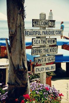 Southern California  - Malibu - Paradise Cove is my favorite place to grab a meal and get sand in my toes when visiting.