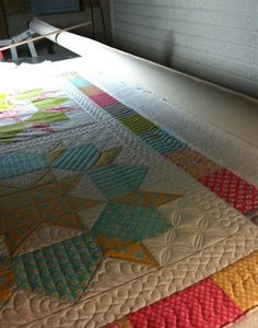 Baby Swoon - delightful quilting!  THE QUILTED PINEAPPLE: Swooning Over Swoon