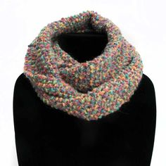Rainbow (Moss) - Handmade by Primrose Cowls, Infinity, Scarves, Rainbow, Warm, Handmade, Fashion, Scarfs, Rain Bow