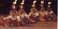 rajasthani pot dance fire