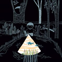 Flashlight: A Whimsical Wordless Story about Curiosity and Wonder | Brain Pickings