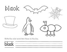 Free Preschool Worksheets For Learning Colors Fun