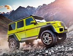 Mercedes-Benz has given another hardcore off-road option to G-Wagen fans: the which has been confirmed for production. Mercedes Benz G500, Mercedes G Wagon, Mercedes Benz Classe G, New Mercedes, Benz Suv, M Bmw, Offroader, Mercedez Benz, Geneva Motor Show