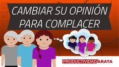 Cambias de opinión para complacer a otros? | Productividad Arata 25