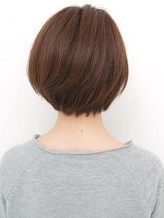 Medium layered bob haircut and hairstyle