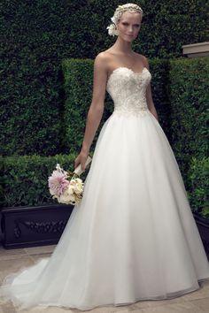 Photographed at our location: Pasadena Princess www.weddingestates.com Wedding gown by Casablanca Bridal
