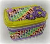 Queridos irmãos! andando em alguns bloges encontrei lindos potes de sorvetes decorados,espero que vocês gostem !!!!!Fica com Deus! ...