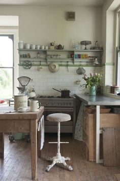 The Vintique Object: The Cobbled Together Kitchen