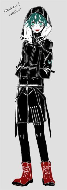Boku no Hero Academia || Midoriya Izuku (Version Villain/Villano)
