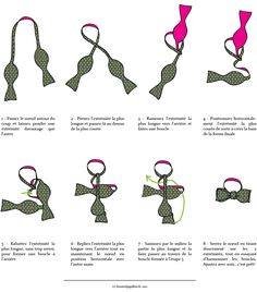 comment faire un noeud papillon tutoriel