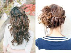 romantic hairdo's