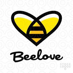 Bee Love Bee Design, Logo Design, Bee Rocks, Bee Quotes, Honey Logo, Honey Packaging, Buzzy Bee, I Love Bees, Honey Label