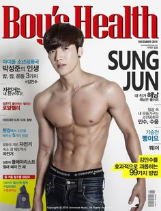 Boys Republic's Onejunn and Sungjun Show Off Fit Bodies in Fun Parody Magazine For Fans Magazine Man, Health Magazine, Magazine Covers, Science Experiments Kids, Science For Kids, Sung Joon, Boys Republic, December, Hot Asian Men