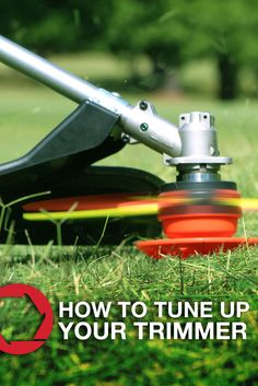 With a few simple maintenance tasks, your string trimmer will be ready for another spring season in no time.