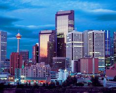 Photo about Downtown of Calgary, Alberta, Canada. Image of alberta, street, towerblock - 2099366 Oh The Places You'll Go, Great Places, Beautiful Places, Places To Visit, Ottawa, Calgary, Belle Villa, Alaska Cruise, Canadian Rockies