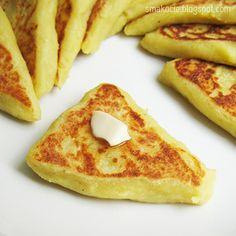 Smakocie i Łakołyki: Zostały ziemniaki z obiadu? A Food, Food And Drink, Romanian Food, Polish Recipes, Cobbler, French Toast, Appetizers, Potatoes, Favorite Recipes