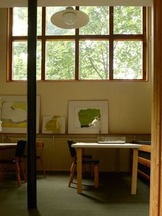 Alvar Aalto's home in Helsinki, Finland, photographed by Leslie Williamson for her forthcoming book