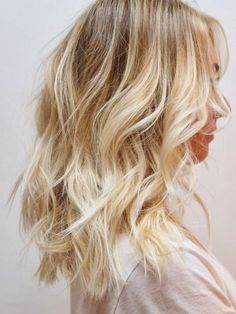 ombre blonde hair