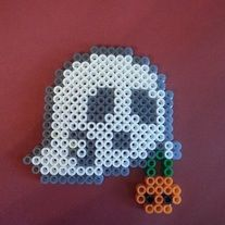 Cute little Halloween decoration!  I hand-craft these adorable magnets, hanging ornaments, and wall décor in my home. They make fun refrigerator magnets, children's room décor, Christmas tree ornaments, car rear view mirror charms, gifts, etc.   Custom-made to order in a smoke-free home out o...