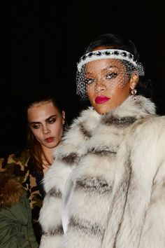 Spotted: current GRAMMY nominee Rihanna carries her fierce streak into the new year on Jan. 1 in New York