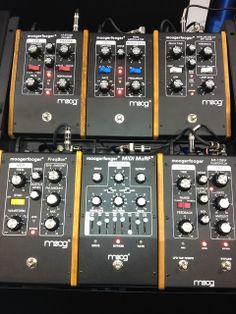 Moog Moogerfooger pedals