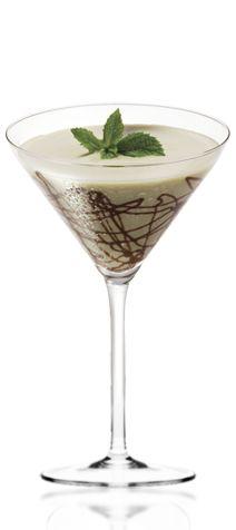 Amarula Mint splash. 1 deel room, 1/2 deel amarula, 1/2 deel pepermunt likeur.