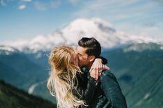 kiss // couple
