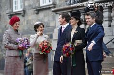 Princess Benedikte, Princess Mary, Prince Joachim, Princess Mary and Prince Frederick