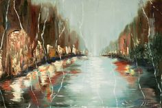 Items similar to Rainy city street painting, abstract citysape oil painting, night water reflection, FREE US SHIPPING on Etsy Rain Painting, Street Painting, Oil Painting For Sale, Painting Prints, Oil Paintings, Kitsch, Rain Street, City Rain, Rainy City