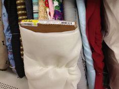 Sheer white fabric (not tulle)