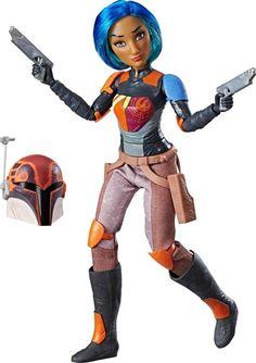 Hasbro - Star Wars Forces of Destiny Sabine Wren Adventure Figure - Multi