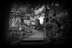 One of the most beautiful cemeteries in the world, Pere Lachaise (Paris).  So many fabulous people buried here.
