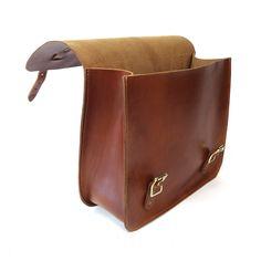 07f3f6c5fa Leather saddle bag, bike bag, saddle bag, motorcycle bag, sissy bar bag