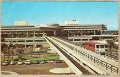 Tampa International Jetport Terminal, Florida.