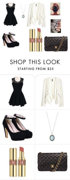 """""""party outfits"""" by kirahj28 on Polyvore featuring Armenta, Yves Saint Laurent and Chanel"""