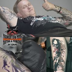 Tattoo Needles and Pins Piercing Shop, Piercing Studio, Tattoo Needles, Professional Tattoo, Get Directions, Tattoo Artists, Ink, Tattoos, People