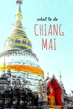 Elephants - spa day - shopping - eating - cooking lessons - temple exploring... there is something to do for everybody in Chiang Mai and it doesn't break the bank!