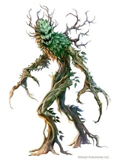 Pathfinder: Green Man by WillOBrien.deviantart.com on @DeviantArt