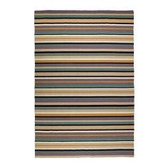 RANDLEV Matto, kudottu, vihreä, beige - IKEA