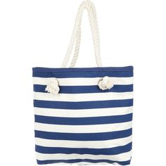 Patterned with nautical stripes, the Atmos&Here Reversible Beach Tote will keep your beach essentials organised in style. Adjust the rope handles for a comfort…