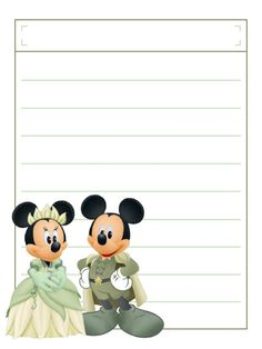 """Minnie Tiana with title box - Project Life Disney Journal Card - Scrapbooking. ~~~~~~~~~ Size: 3x4"""" @ 300 dpi. This card is **Personal use only - NOT for sale/resale** Logos/clipart belong to Disney. ***Click through to photobucket to see this this card with lots of different characters***"""