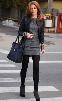Casual Womens work Fashion and Outfit ideas. - Office Outfits - - Casual Womens work Fashion and Outfit ideas. Source by OfficeOutfitsOfficial Women's Dresses, Dress Outfits, Winter Outfits, Fashion Outfits, Work Dresses, Fashion Ideas, Gray Dress Outfit, Work Outfit Winter, Fashion Clothes